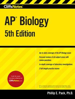 Cliffsnotes AP Biology, 5th Edition - Pack, Phillip E, PH.D.