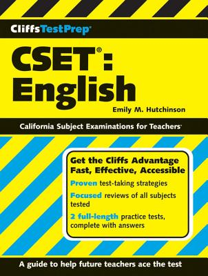 Cliffstestprep Cset: English - Hutchinson, Emily M