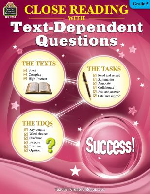 Close Reading Using Text-Dependent Questions Grade 5 - Foster, Ruth