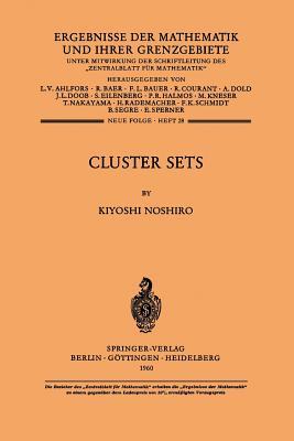 Cluster Sets - Noshiro, Kiyoshi
