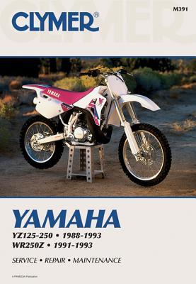 Clymer Yamaha Yz125-250; Wr250z 88-93: Service, Repair, Maintenance - Haynes Manuals N America Inc
