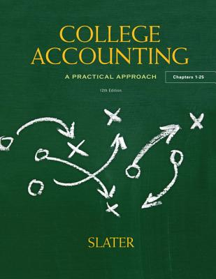 College Accounting - Slater, Jeffrey