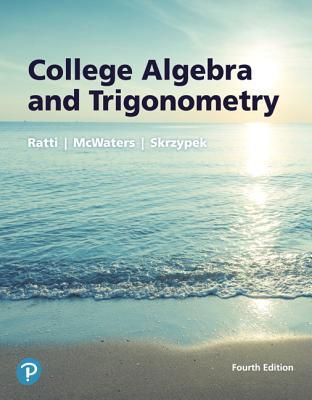 College algebra and trigonometry 4th edition Lial pdf