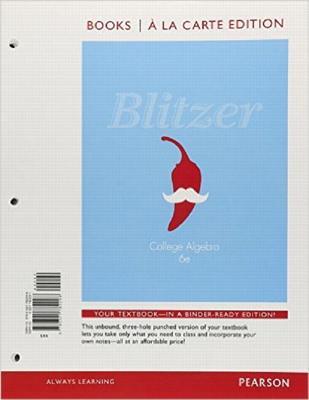 College Algebra - Blitzer, Robert F