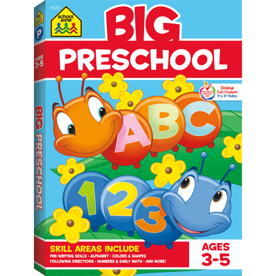 Color Big Get Ready Preschool - School Zone Publishing
