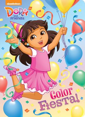 Color Fiesta! (Dora and Friends) - Tillworth, Mary