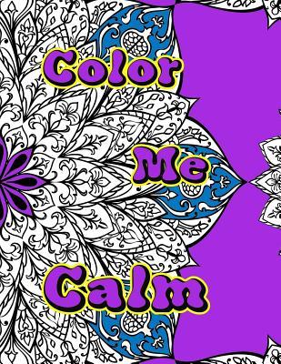 Color Me Calm - Books, Doodle