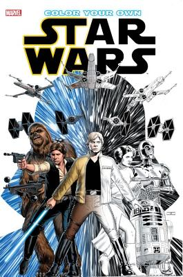 Color Your Own Star Wars -