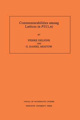 Commensurabilities Among Lattices in Pu (1, N). (Am-132), Volume 132 - Deligne, Pierre