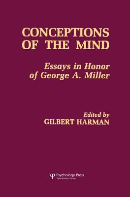 Conceptions of the Human Mind: Essays in Honor of George A. Miller - Harman, Gilbert (Editor)