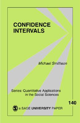 Confidence Intervals - Smithson, Michael, Professor