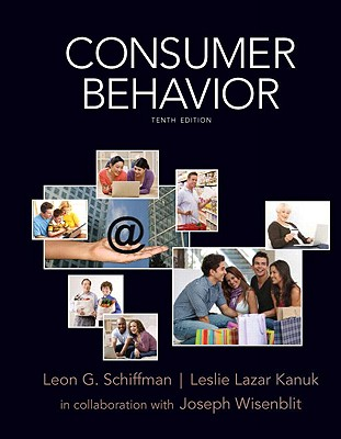 consumer behaviour by schiffman Get this from a library consumer behavior [leon g schiffman leslie lazar kanuk joseph wisenblit] -- taking a market segmentation approach, this latest edition of a respected text carefully balances consumer behaviour concepts, research and applied marketing examples.