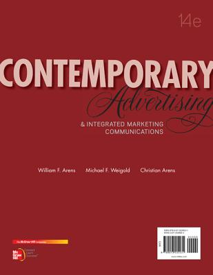 Contemporary Advertising with Connectplus Access Card - Arens, William, and Weigold, Michael, and Arens, Christian