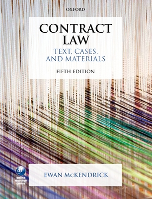 Contract Law: Text, Cases, and Materials - McKendrick, Ewan