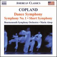 Copland: Dance Symphony; Symphony No. 1; Short Symphony - Bournemouth Symphony Orchestra; Marin Alsop (conductor)