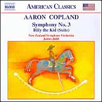 Copland: Symphony No. 3; Billy the Kid (Suite) - New Zealand Symphony Orchestra; James Judd (conductor)