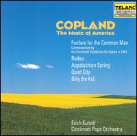 Copland: The Music of America - Philip Collins (trumpet); William Harrod (horn); Cincinnati Pops Orchestra; Erich Kunzel (conductor)