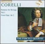 Corelli: Sonatas for Strings, Vol. 1 - Jakob Lindberg (theorbo); Purcell Quartet; Robert Woolley (organ); Robert Woolley (harpsichord)