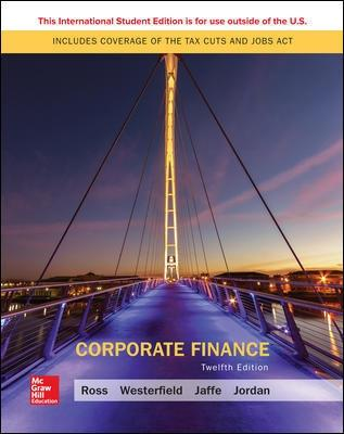 Corporate Finance - Ross, Stephen, and Westerfield, Randolph, and Jaffe, Jeffrey