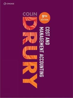 Cost and Management Accounting - Drury, Colin