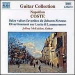 Coste: Seize Valses Favorites de Johann Strauss Op. 7