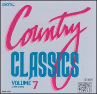 Country Classics, Vol. 7 (1986-1987) - Various Artists