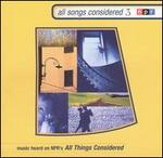 All Songs Considered, Vol. 3