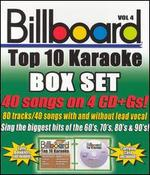 Billboard Top 10 Karaoke, Vol. 4