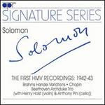 Solomon: The First Recordings, 1942-43