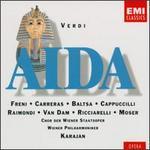 Verdi-Aida / Freni Carreras Baltsa Cappuccilli Raimondi Van Dam Ricciarelli Moser Wiener Phil. Karajan