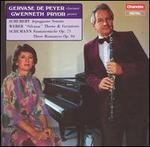 """Schubert: Arpeggione Sonata; Weber: """"Silvana"""" Theme & Variations; Schumann: Fantasiestncke, Op. 73"""