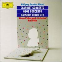 Mozart: Clarinet Concerto; Oboe Concerto; Bassoon Concerto - Vienna Philharmonic Orchestra; Karl B�hm (conductor)