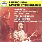 Bart�k: Violin Concerto No. 2; Second Suite