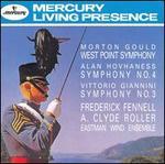 Gould: Symphony No. 4; Hovhaness: Symphony No. 4; Giannini: Symphony No. 3