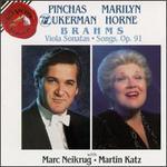 Brahms: Viola Sonatas / Songs Op. 91