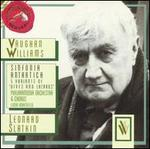 "Vaughan Williams: Sinfonica Antartica; 5 Variants of ""Dives and Lazarus"""