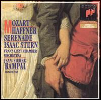 Mozart: Haffner Serenade - Isaac Stern (violin); Franz Liszt Chamber Orchestra; Jean-Pierre Rampal (conductor)
