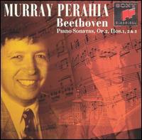 Beethoven: Piano Sonatas Op. 2, Nos. 1, 2 & 3 - Murray Perahia (piano)