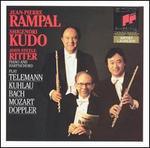 Rampal, Kudo, Ritter play Telemann, Kuhlau, Bach, Mozart, Doppler