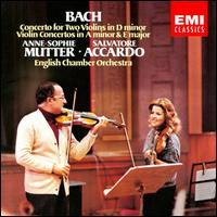 Bach: Concerto for Two Violins; Violin Concertos - Anne-Sophie Mutter (violin); Leslie Pearson (harpsichord); Salvatore Accardo (violin); English Chamber Orchestra;...