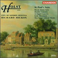 Holst: St. Paul's Suite - Stephen Tees (viola); City of London Sinfonia; Richard Hickox (conductor)