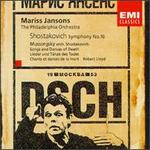 Shostakovich: Symphony No. 10; Songs and Dances of Death