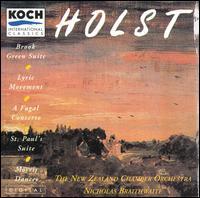 Holst: Works for Chamber Orchestra - Alexa Still (flute); Stephen Popperwell (oboe); Vyvyan Yendoll (viola); New Zealand Chamber Orchestra;...