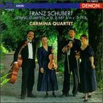 Franz Schubert: String Quartet D. 887; String Quartet D. 703