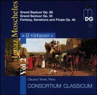 Il Virtuoso, Vol. 2: Ignaz Moscheles - Claudius Tanski (piano); Consortium Classicum