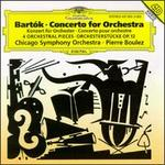 Bartk: Concerto for Orchestra; Orchestral Pieces, Op. 12