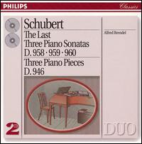 Schubert: The Last Three Piano Sonatas -