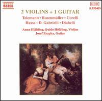 2 Violins + 1 Guitar - Anna H�lbling (violin); Guido H�lbling (violin); Jozef Zsapka (guitar)