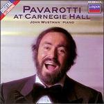 Pavarotti at Carnegie Hall