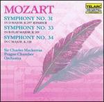 Mozart: Symphonies No. 31, No. 33 & No. 34 [Audio Cd] Mackerras/Prague Co